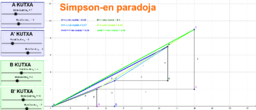 Simpsonen paradoja probabilitatean