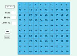 Hundred Grid 0-99 for LZ