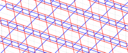 Pythagorean Theorem by Tessellation # 49 Tiling
