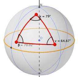 Triángulo esférico