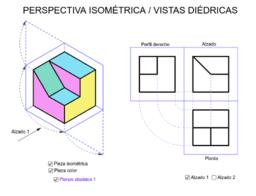 ISOMETRÍA / VISTAS DIÉDRICAS