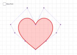 愛上貝氏曲線 (Love for Bezier)