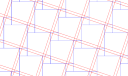 Pythagorean Theorem By Tessellation # 6 Tiling