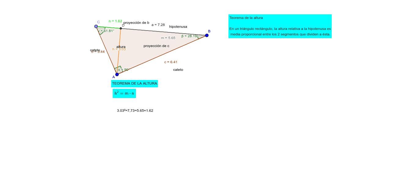 Teorema de Altura