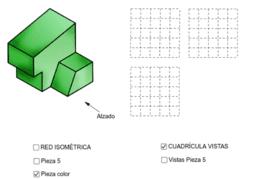 VISTAS/ISOMETRÍA (pieza 5)