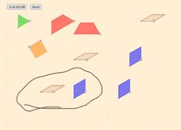 Padrões em malha triangular