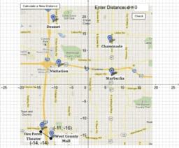Distances in St. Louis