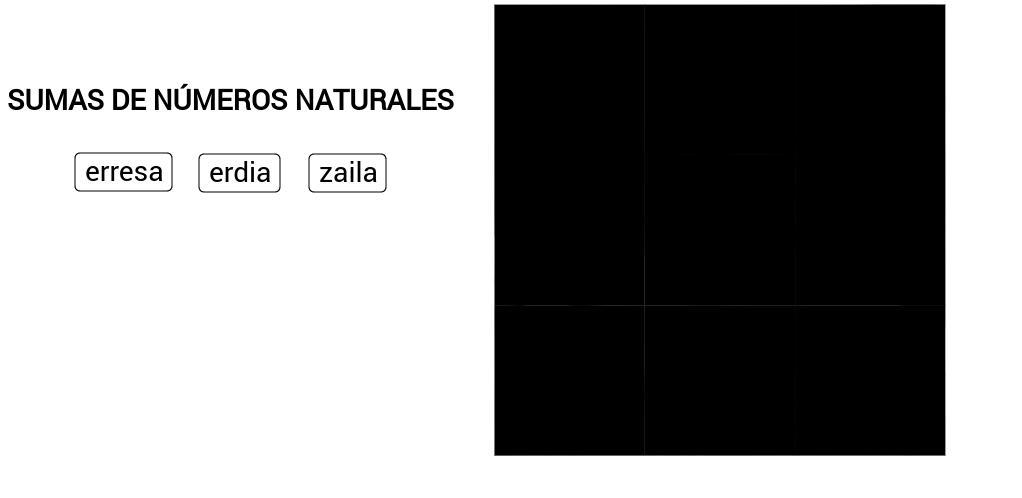 ADICCIÓN DE NÚMEROS NATURALES