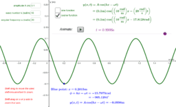 Traveling wave equation