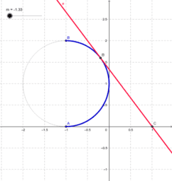 Equazioni parametriche: es. n. 13