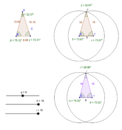 Isosceles Triangle - CB Act22-1