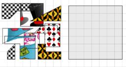 Alice in GeoGebra land. Puzzle