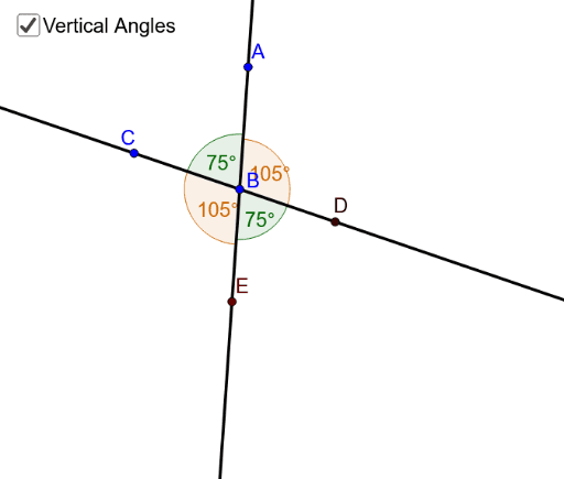 Linear Pair And Vertical Angles