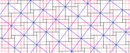 Pythagorean Theorem by Tessellation # 61 Tiling