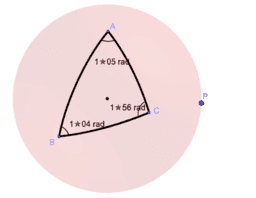 Spherical triangle 2