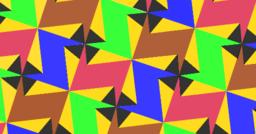 Pythagorean Tessellation # 42 Tiling