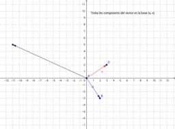 Descomposició d'un vector en les seves component