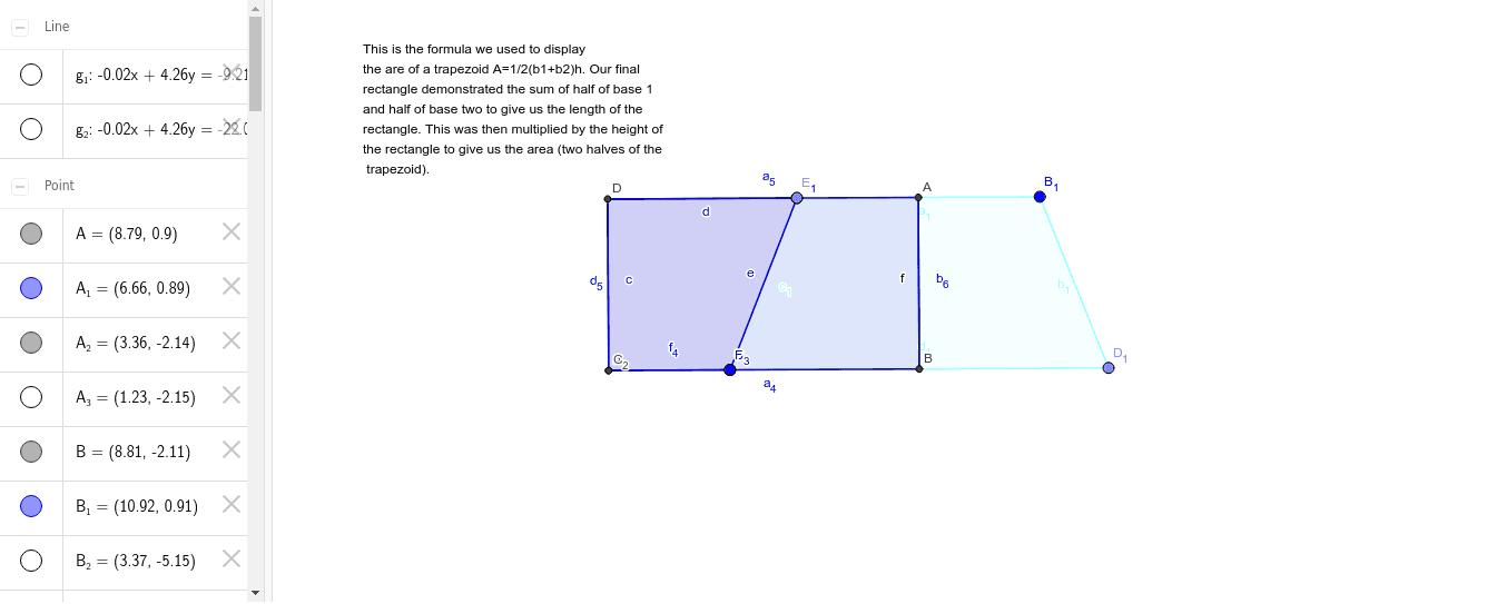 Trapezoid 1 Press Enter to start activity