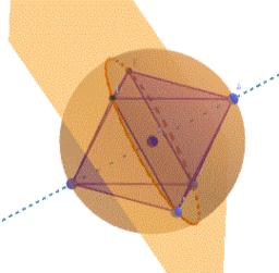 Octaedro inscrito en esfera