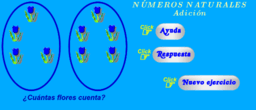 Números naturales - Suma 1