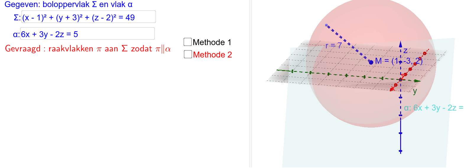 GeoGebra Applet Klik op Enter om de activiteit te starten