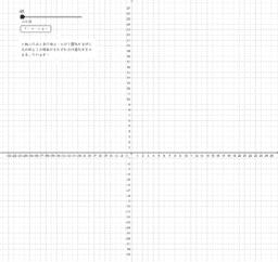 反比例と1次関数の変化の割合