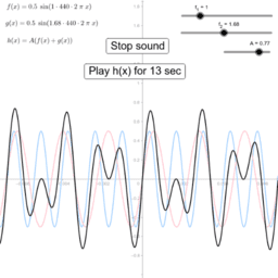 The sound of a sine wave