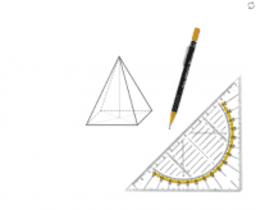 Schrägbilder mit dem Geodreieck zeichnen