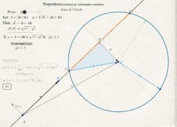 Intersect Line and Circle