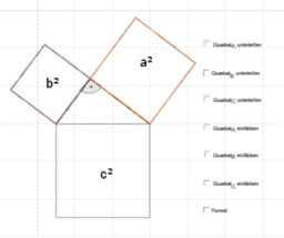 Beweis - Einheitsquadrate
