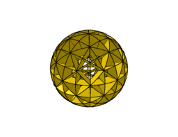 Spherical model - rhombicuboctahedron