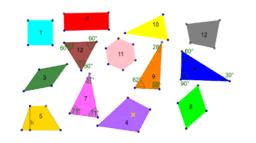 Undersøke mangekanter