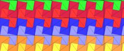 Pythagorean  Tessellation # 89 Tiling