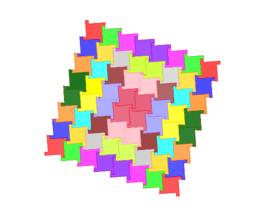 Pythagorean Tessellation # 11 Tiling