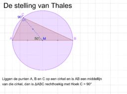 Stelling van Thales - KKC BRR WI 2