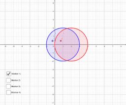 Aplicación racional circunferencia -> semiplano