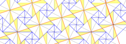 Pythagorean Theorem by Tessellation # 22 Tiling