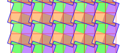 Pythagorean Theorem by Tessellation # 55 Tiling