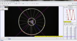 Kerékpárszelep mozgásának vizsgálata (lassú) – Videoelemzés