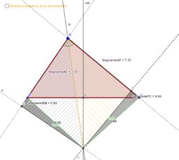 ¿Todos los triángulos son isósceles? (Ejercicio)