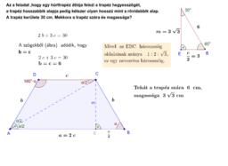 Szimmetrikus trapéz