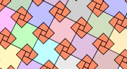Pythagorean Tessellation # 51 Tiling