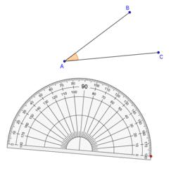 Measurement & Classification of Angles 角的量度和分類