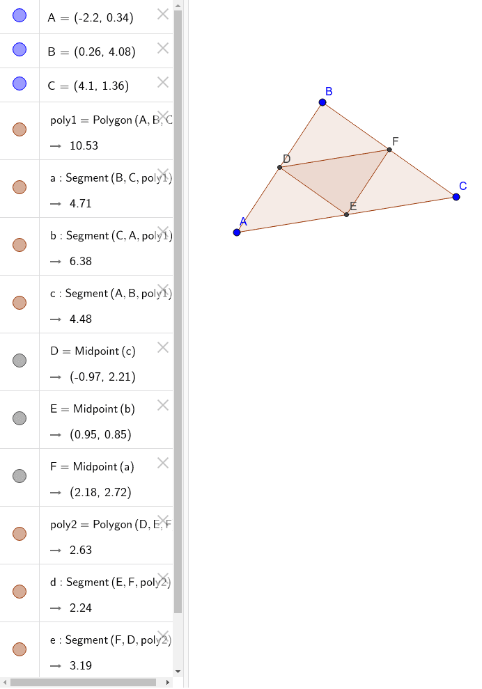 Medial Triangle