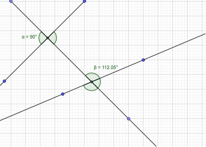 Aufgabe 8: Bestimme die anderen Winkelgrößen mit deinem neuen Wissen. Gebe den Winkeln auch Bezeichnungen Drücke die Eingabetaste um die Aktivität zu starten
