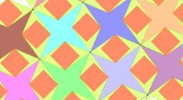 Pythagorean Tessellation # 38 Tiling