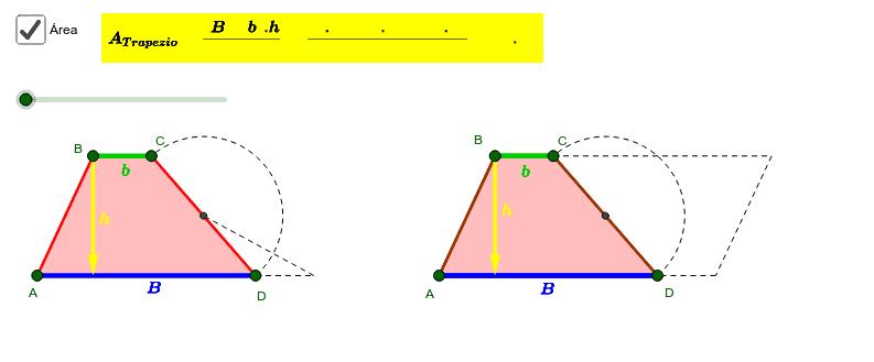 Área do Trapézio 2