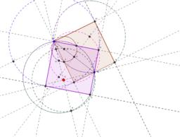 Construir un cuadrado a partir de dos puntos A y B