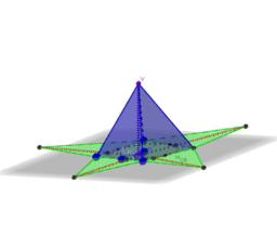 Piramide che ha per base un quadrilatero circoscritto