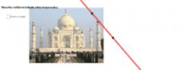 Taj Mahal Line of Reflection Symmetry